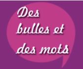 Logo des bulles et des mots