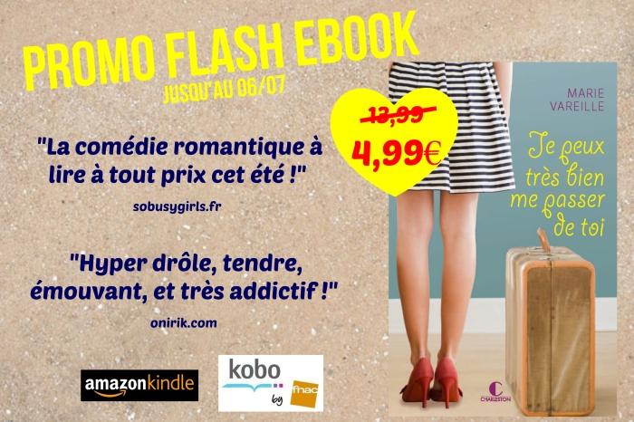 Promo ebook plage jaune
